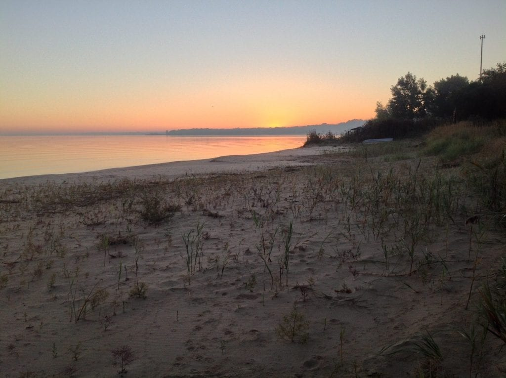 Saginaw Bay Beach